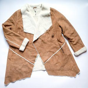 HiSO Genuine Shearling Lamb Wrap Jacket